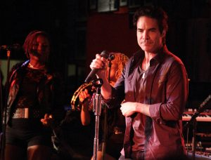 "Train in Concert Celebrating the Upcoming ""Bulletproof Picasso"" Album Release at the 100 Club in London - August 14, 2014"
