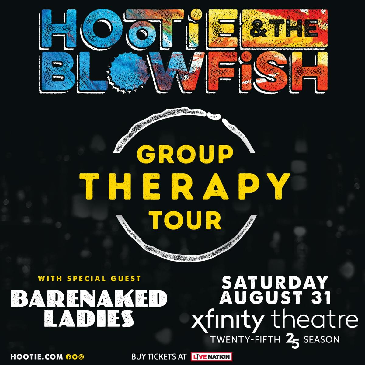 Enter to win tickets to Hootie and the Blowfish!