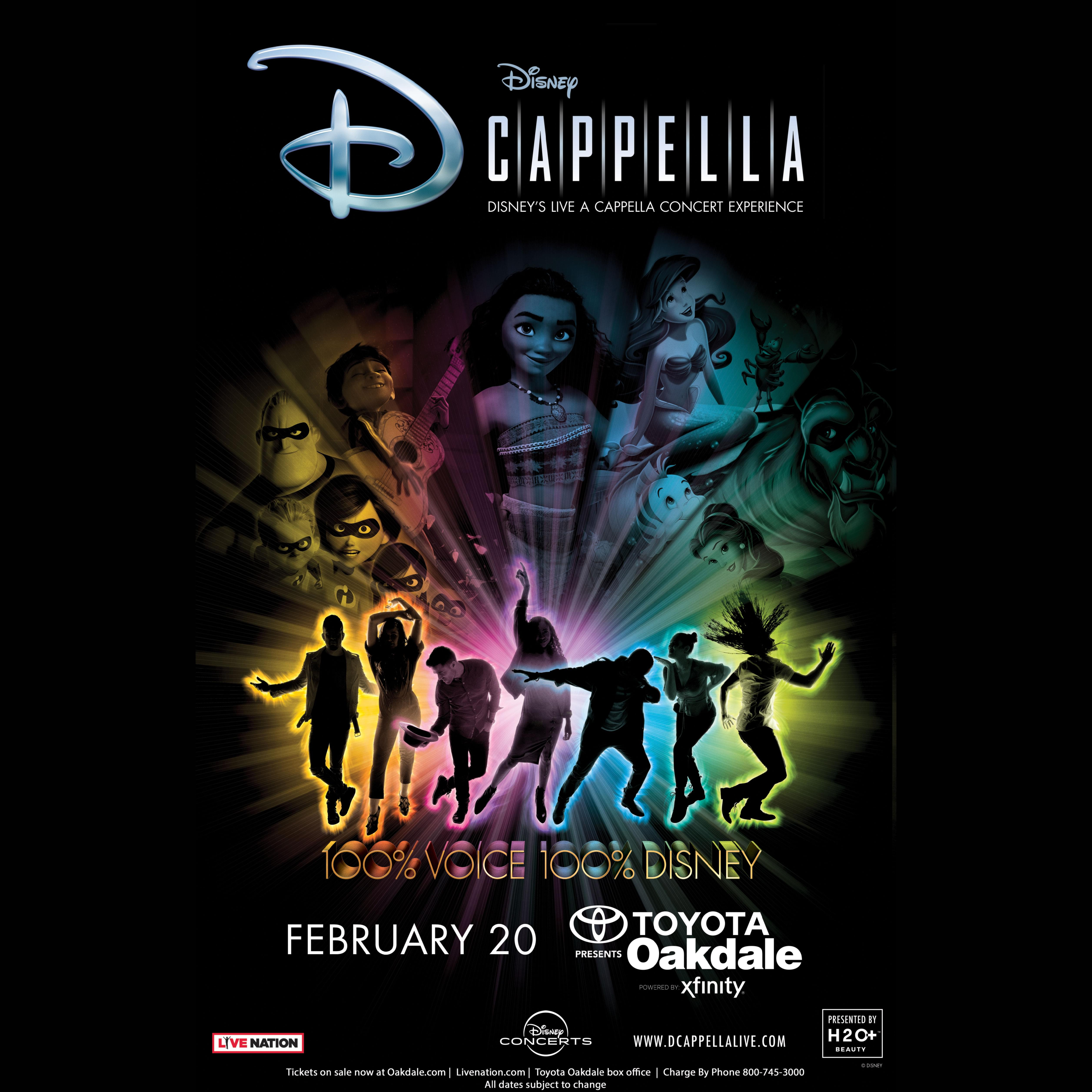 Enter to win tickets to D'CAPELLA!