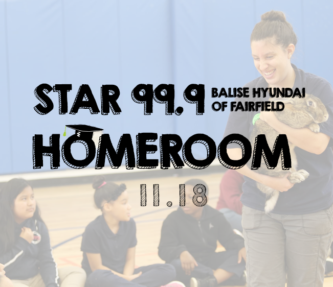 Star 99.9 Balise Hyundai of Fairfield Star Homeroom: November 2018