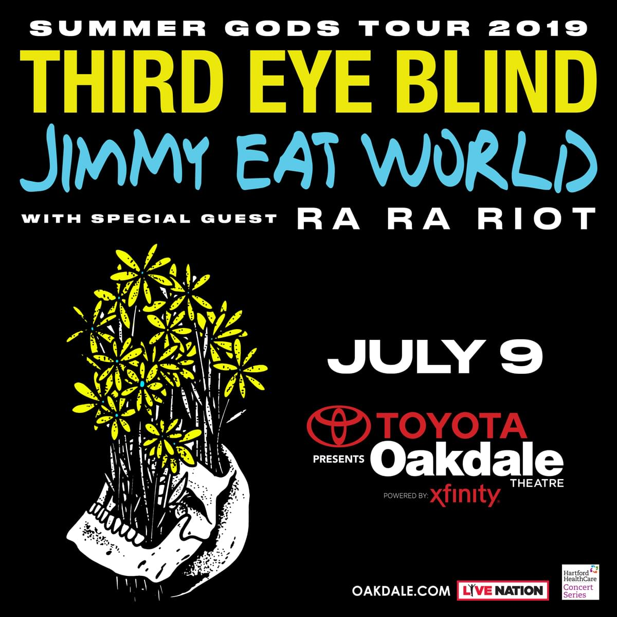 Enter to win tickets to Third Eye Blind and Jimmy Eat World with special guests Ra Ra Riot
