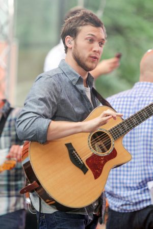 "Phillip Phillips in Concert on NBC's ""Today Show"" at Rockefeller Center in New York City - June 27, 2014"