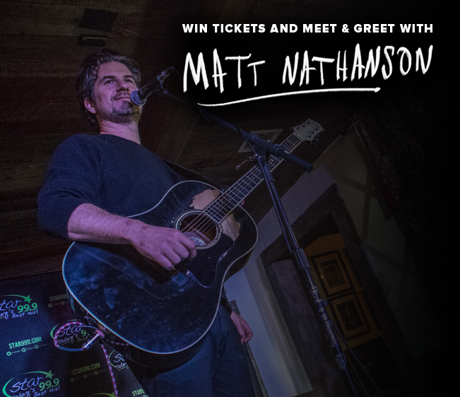 Win Meet & Greet tickets to Matt Nathanson
