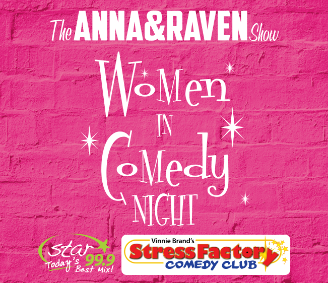 Win tickets to The Anna & Raven Show Women In Comedy Night