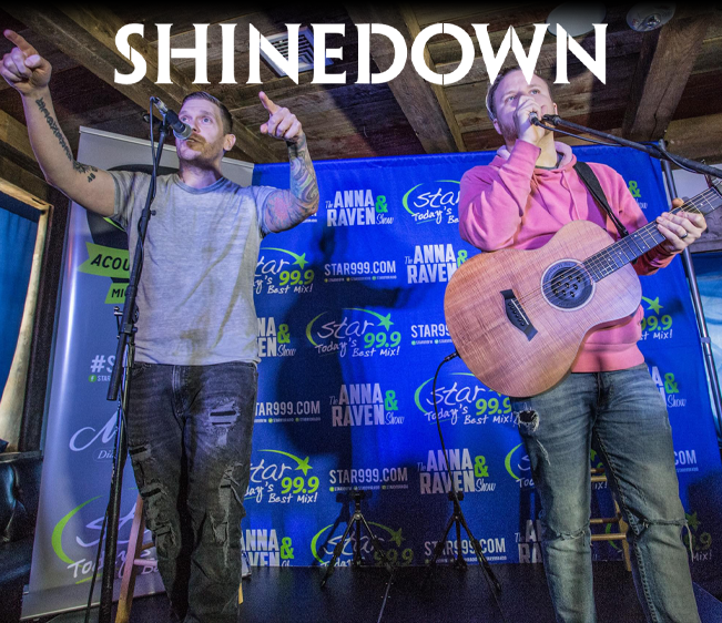 Star 99.9 Michaels Jewelers Acoustic Session with Shinedown