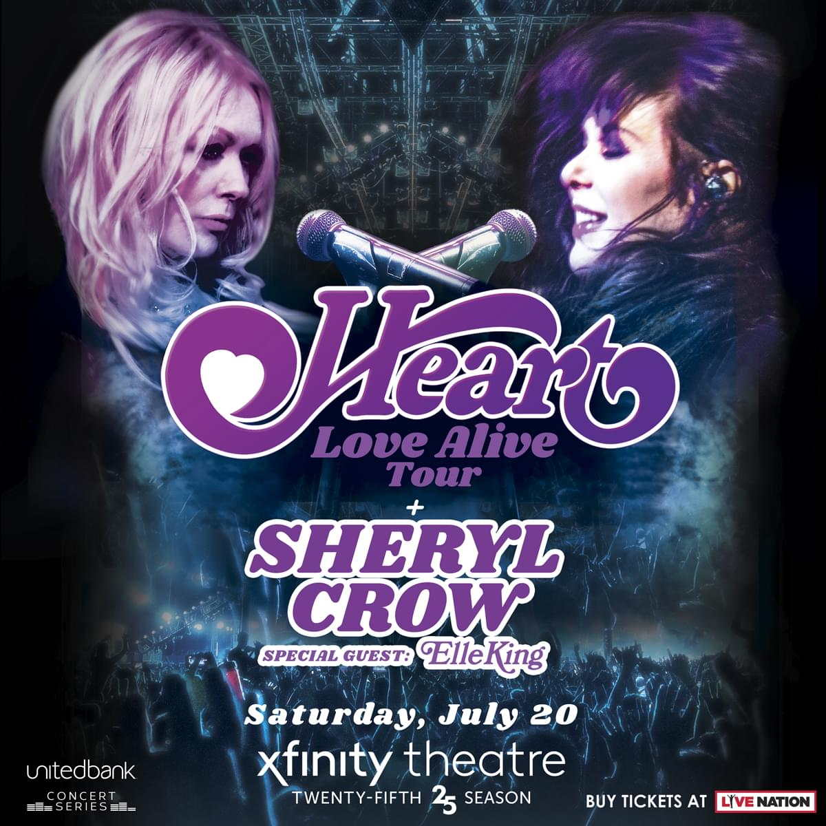 Enter to win tickets to Heart with Sheryl Crow and Elle King