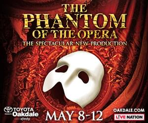 Enter to win tickets to Phantom of the Opera