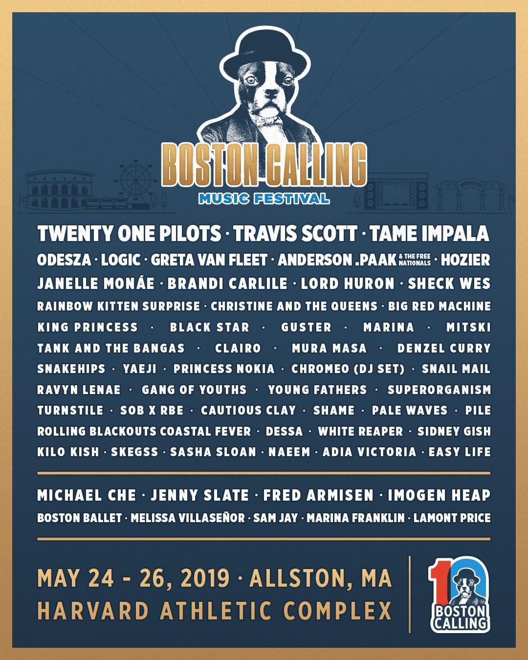 Win tickets to the 10th Boston Calling Music Festival