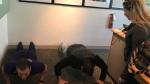 60 Seconds Behind the Scenes- Dino from Project Purple and the push-up contest