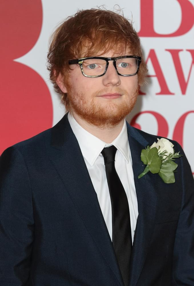 Today's STAR- Ed Sheeran