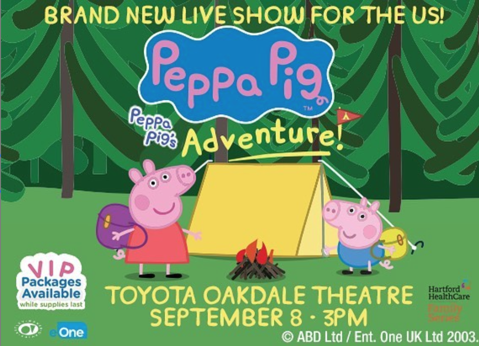 Enter to win tickets to Peppa Pigs Big Adventure