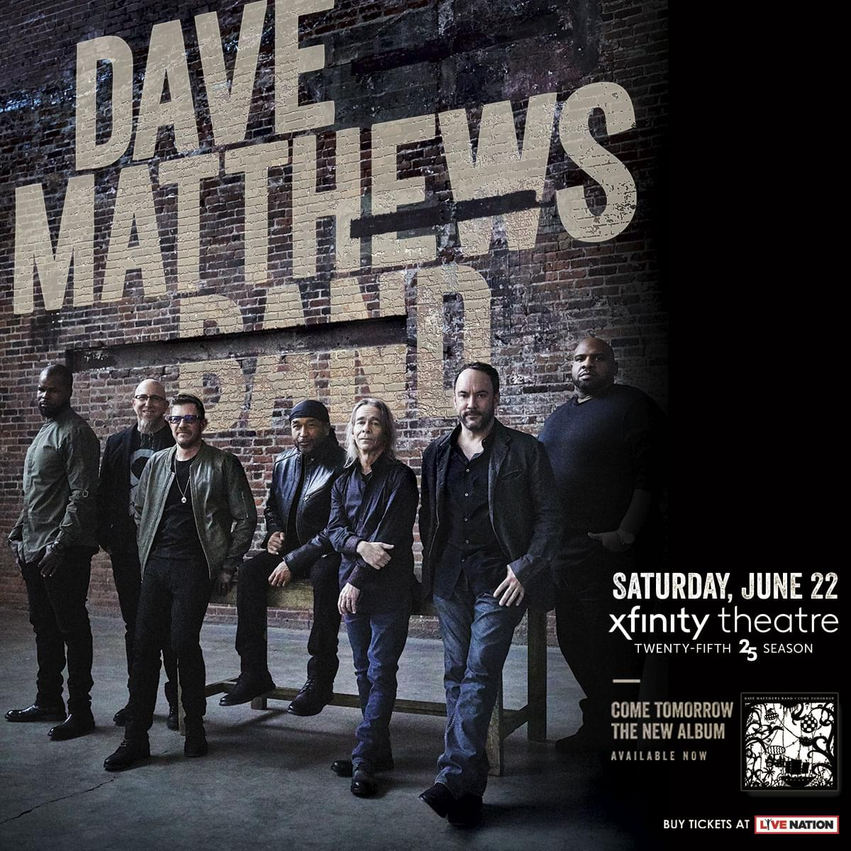Win tickets to Dave Matthews Band