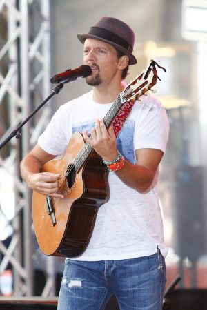 """Jason Mraz in Concert on NBC's """"Today Show"""" at Rockefeller Plaza in New York City - July 18, 2014"""