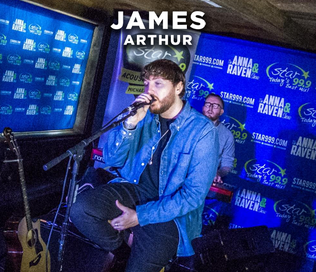Star 99.9 Michaels Jewelers Acoustic Session with James Arthur