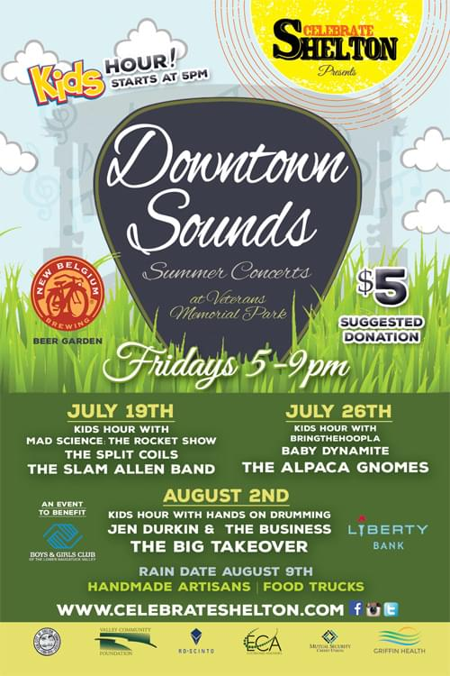 Downtown Sounds Summer Concerts
