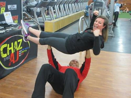 See Pam at The Edge Fitness Clubs
