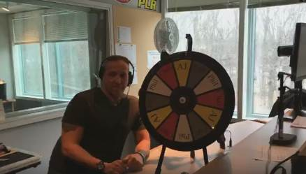 Poor AJ Lost The Hottest Wing Wheel Challenge BUT Still Decided To Eat It!