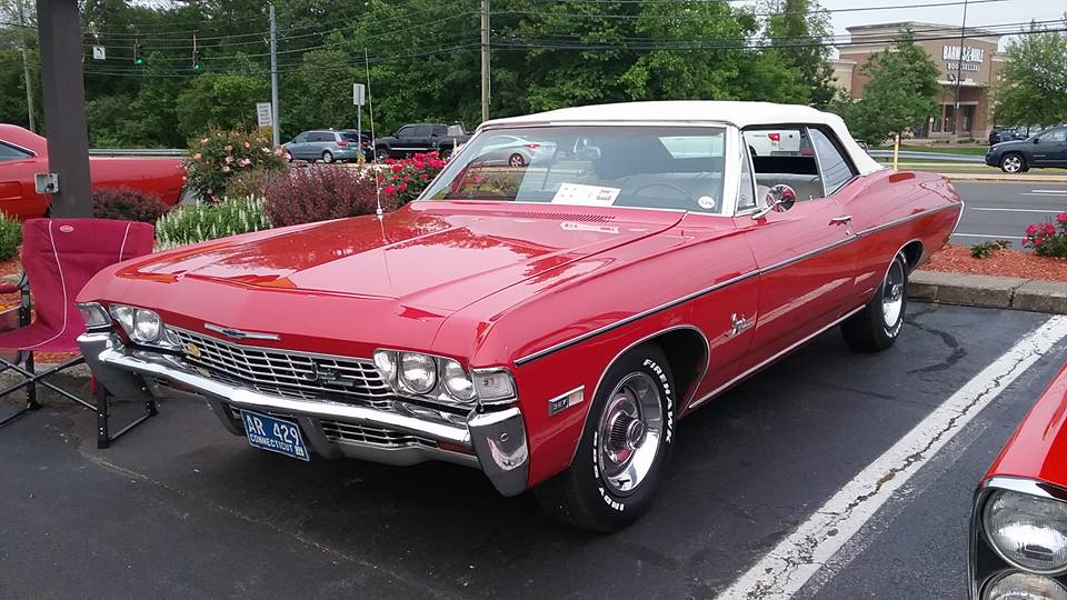 Aj S Car Of The Day 1968 Chevrolet Impala Convertible