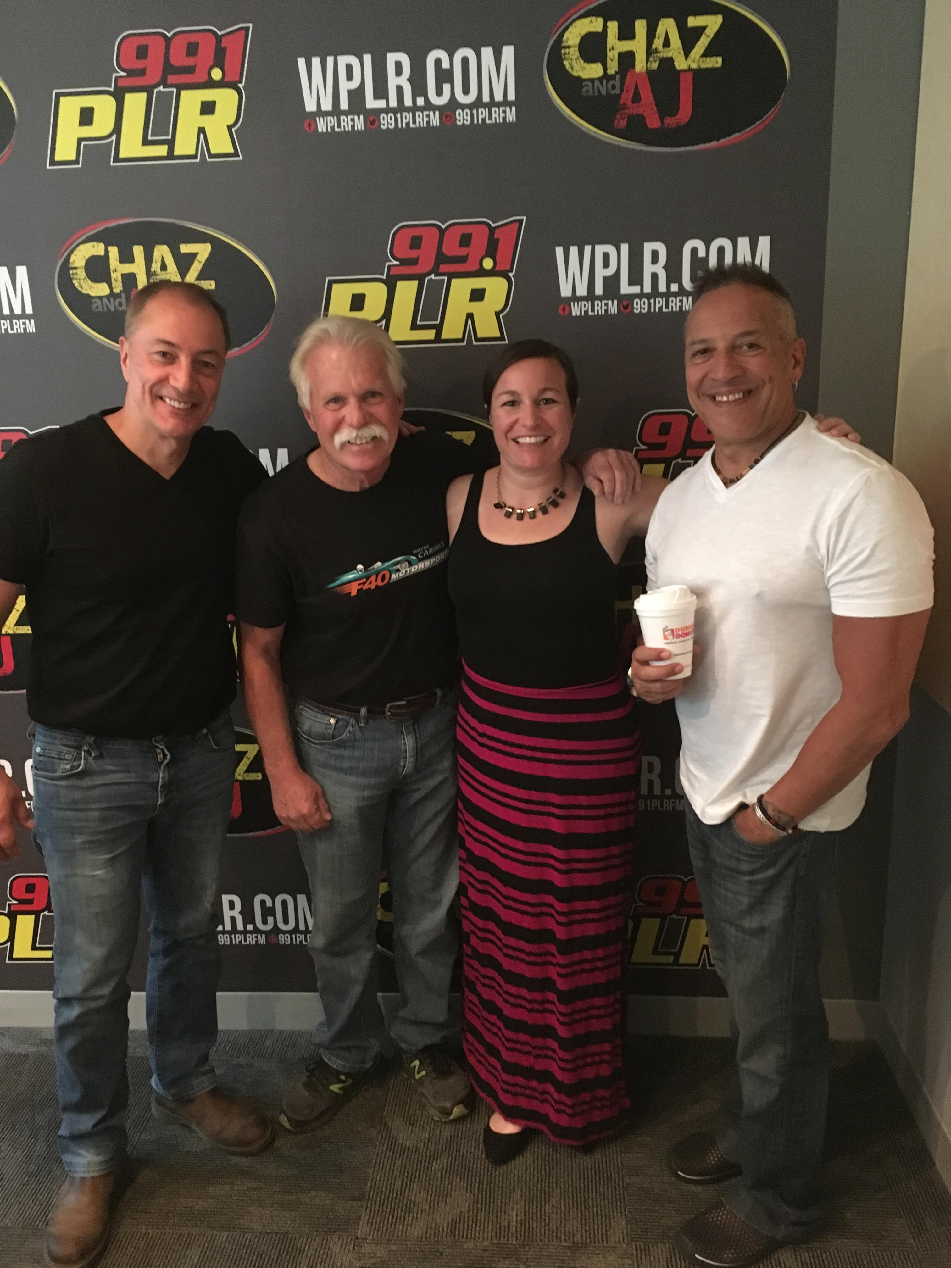 On Today's Chaz & AJ: Wayne Carini, Why Vacay In CT, What Do You Suck At?!
