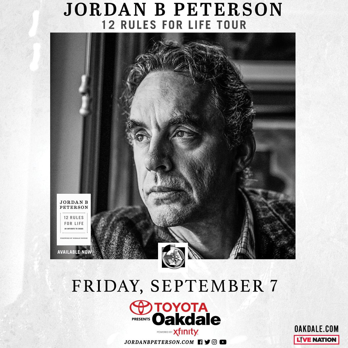 Win tickets to Dr. Jordan Peterson
