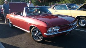 1967 Chevrolet Corvair Corsa Turbo Convertible