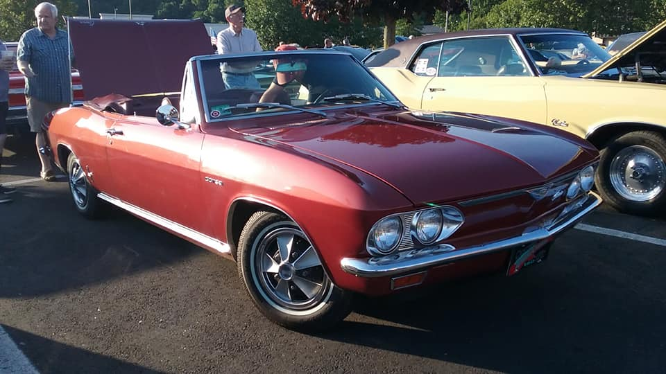AJ's Car of the Day: 1967 Chevrolet Corvair Corsa Turbo Convertible