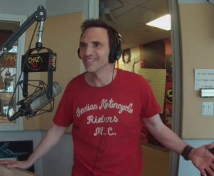 paul mecurio in studio