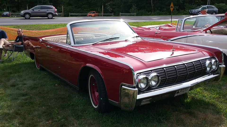 Aj S Car Of The Day 1964 Lincoln Continental 4 Door Convertible
