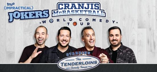 Win tickets to The Impractical Jokers