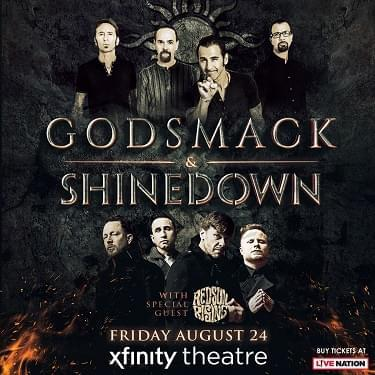 Win tickets to Godsmack and Shinedown