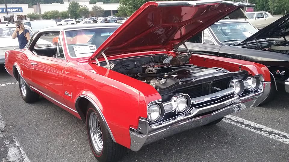 aj s car of the day 1967 oldsmobile cutlass holiday hardtop coupe