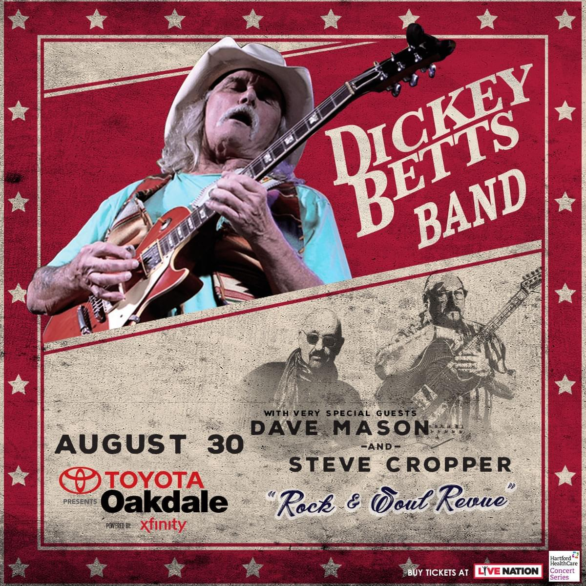 Win tickets to The Dickey Betts Band