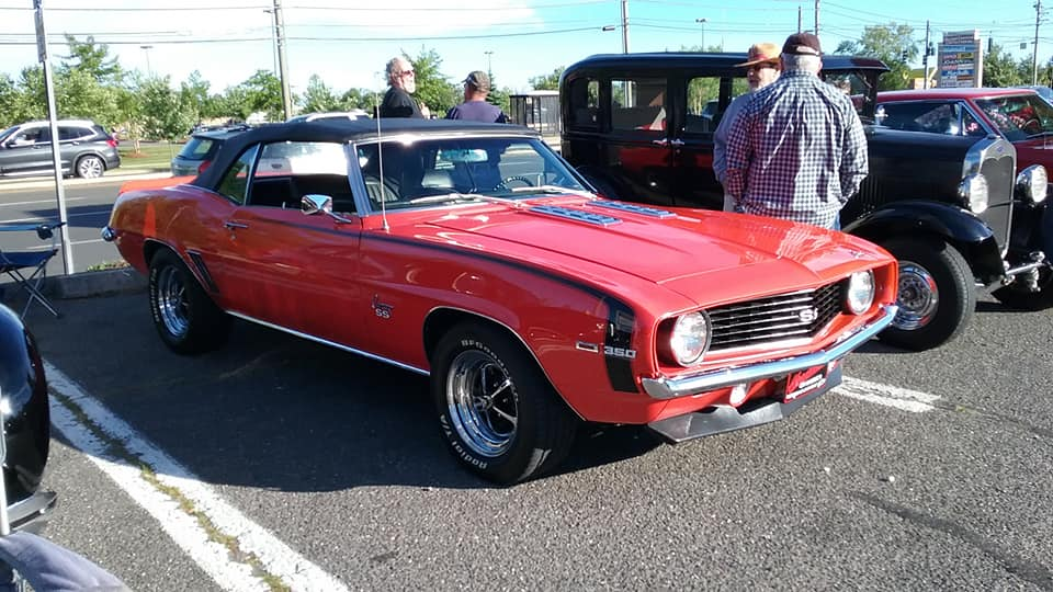 Aj S Car Of The Day 1969 Chevrolet Camaro Ss Convertible