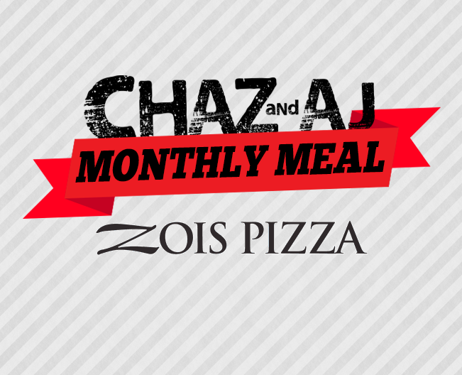 Win tickets to the Chaz & AJ Monthly Meal
