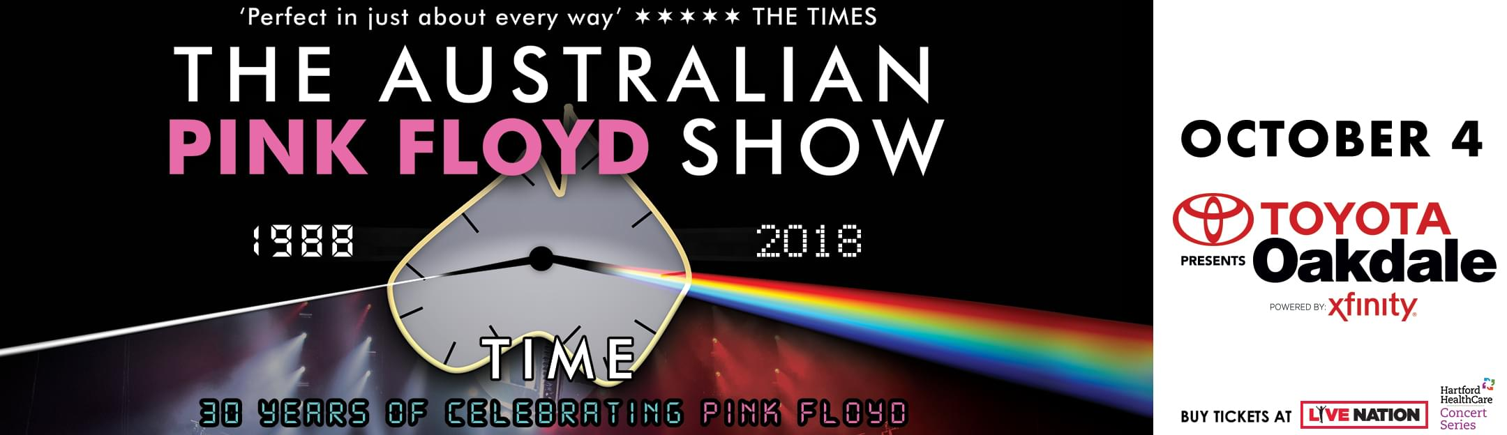 Win tickets to The Australian Pink Floyd Show