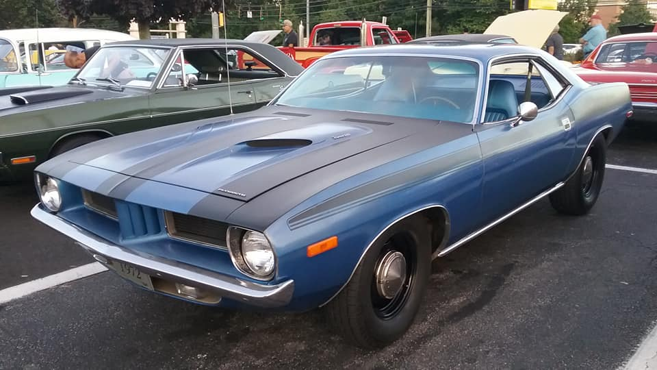 AJ's Car of the Day: 1972 Plymouth 'Cuda 340 Coupe
