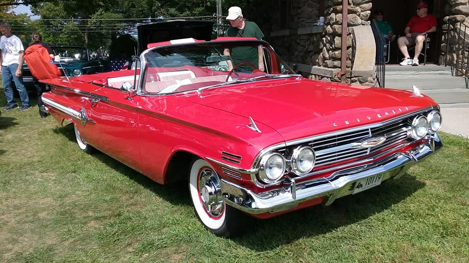 Aj S Car Of The Day 1960 Chevrolet Impala Convertible 99 1 Plr