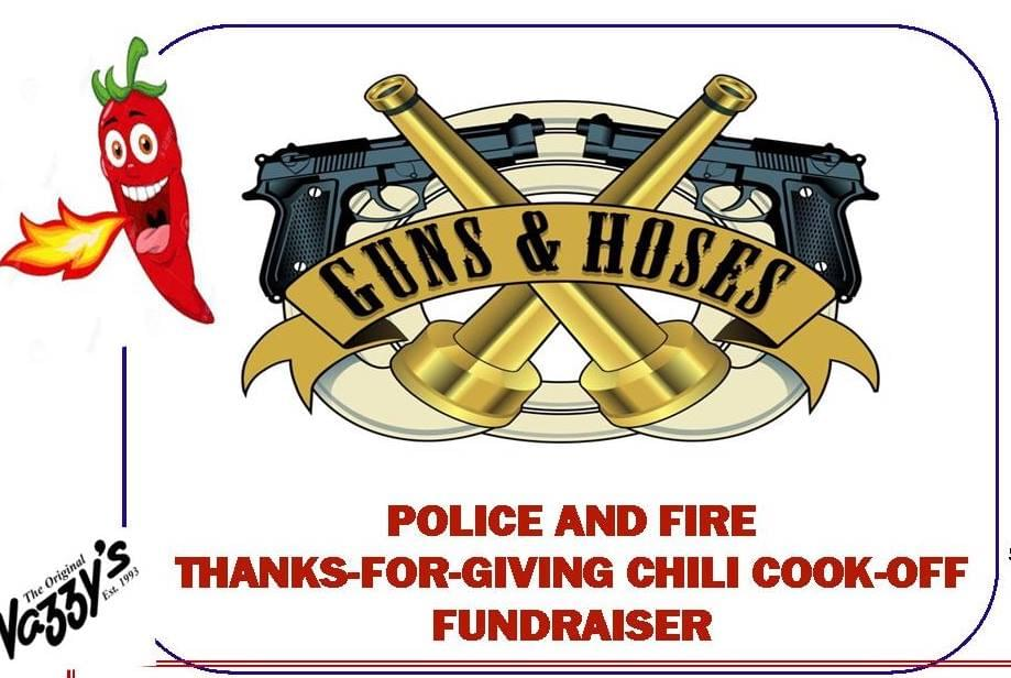 Guns & Hoses: Police and Fire Chili Cook-Off Fundraiser