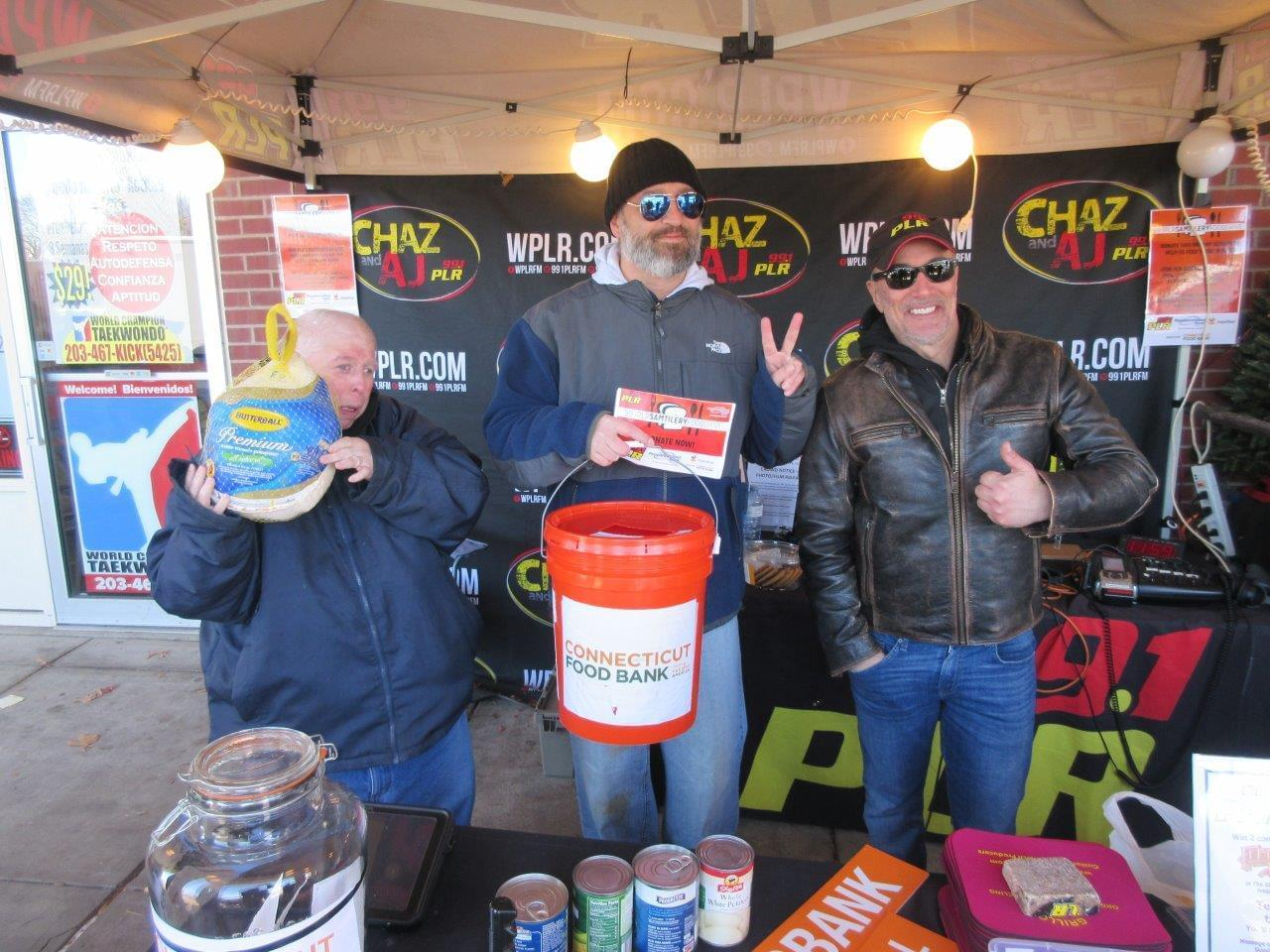VIDEO: 99.1 PLR People's United Bank Sam Tilery Food Drive