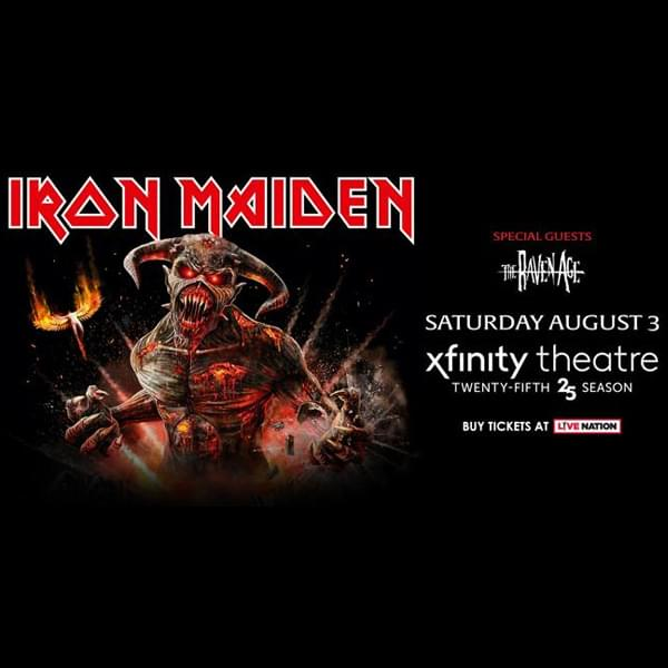 Enter to win: Iron Maiden at The XFINITY Theatre