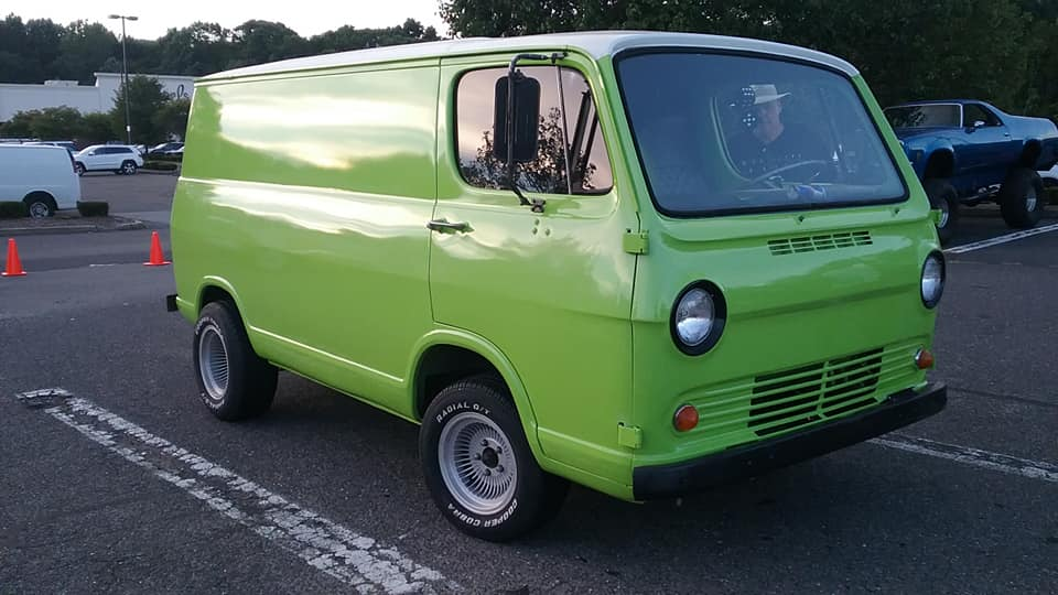 "AJ's Car of the Day: 1965 Chevrolet ""Chevyvan"" G10 Van"