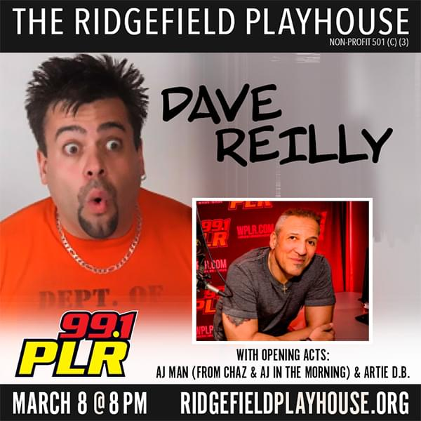 Dave Reilly with AJ at Ridgefield Playhouse