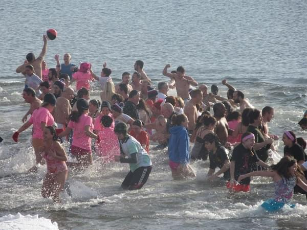 The Icy Plunge for the Cure in West Haven
