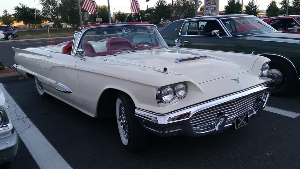 "AJ's Car of the Day: 1960 Ford Thunderbird ( ""Squarebird"" ) Convertible"