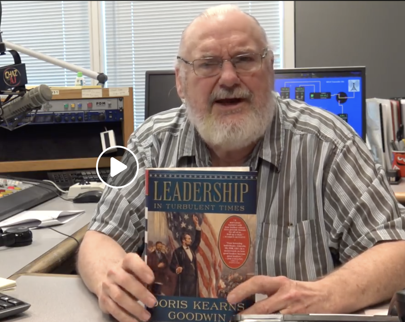 """Wiggy's Book of the Week: """"Leadership in Turbulent Times"""""""