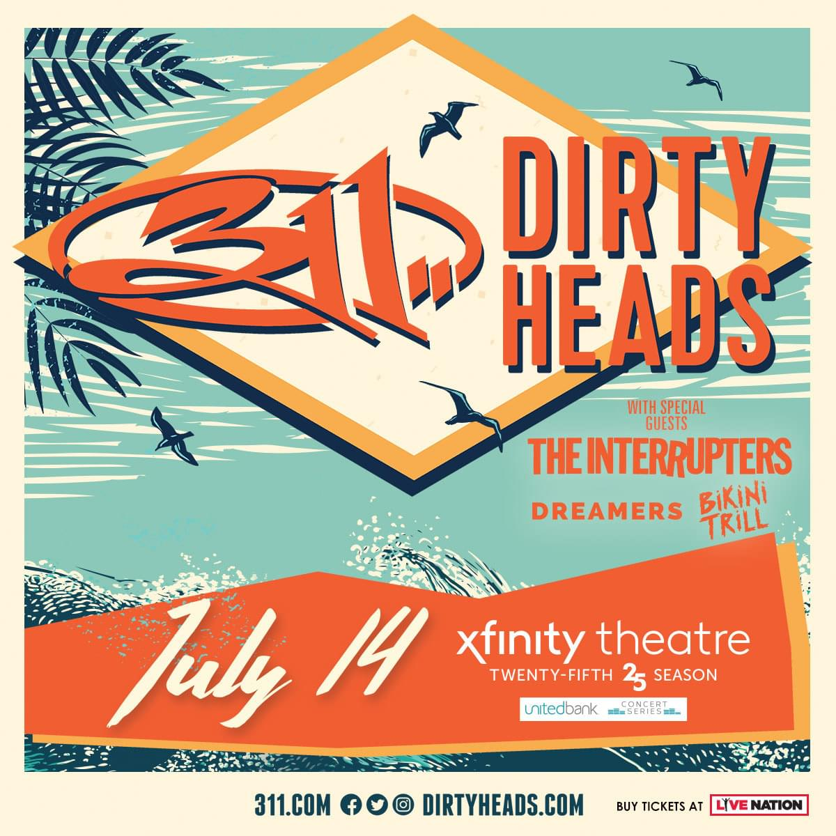 PLR 420 Weekend: Tickets to 311 and Dirty Heads