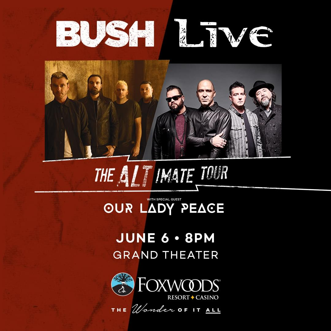 Win tickets to Bush and Live