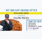 Zois Greek Pizza Eating Contest