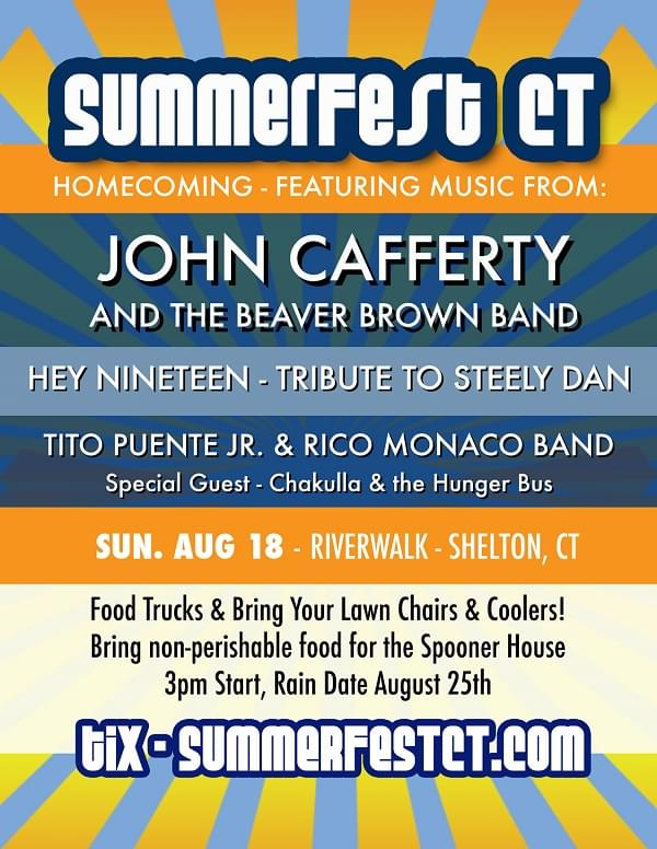 SummerFest CT featuring John Cafferty & The Beaver Brown Band