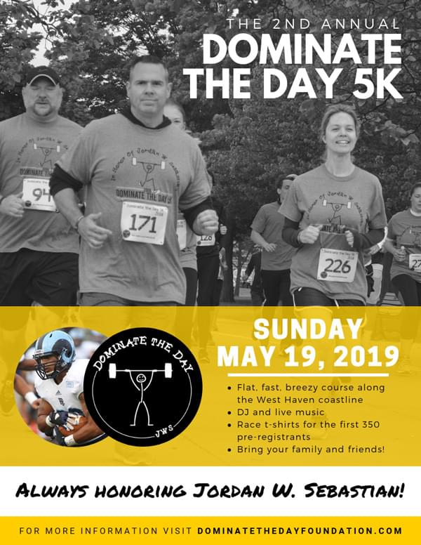 Dominate The Day 5K Road Race